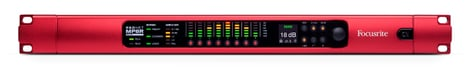 Focusrite Pro RedNet MP8R 8-Channel Remote-Controlled Microphone Preamplifier and A/D Converter for Dante Networks REDNET-MP8R