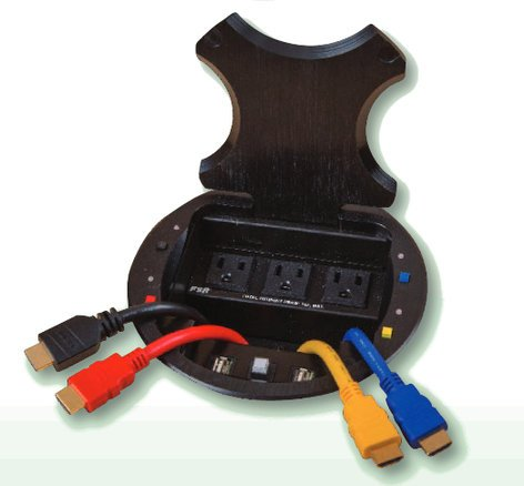 FSR, Inc HV-1000  4 Person Table Box System HV-1000