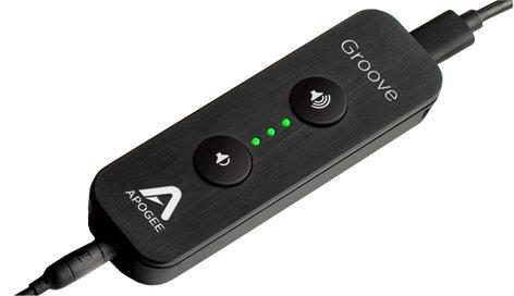 Apogee Groove Portable USB DAC and Headphone Amplifier for Mac/Windows PCs GROOVE-APOGEE