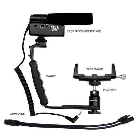 MXL Microphones MM-VE001  Moblie Media Videographer's Essentials Kit MM-VE001