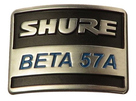 Shure 39F926  Nameplate for B57A 39F926