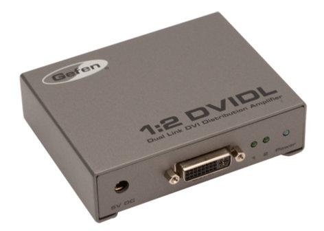 Gefen Inc EXT-DVI-142DLN  1:2 Dual Link DVI Distribution Amplifier EXT-DVI-142DLN