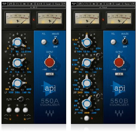 Waves API 550 Vintage EQ Plugin API550TDM