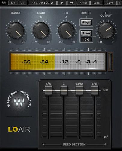 Waves LoAir Subharmonic Generator Plugin LOATDM