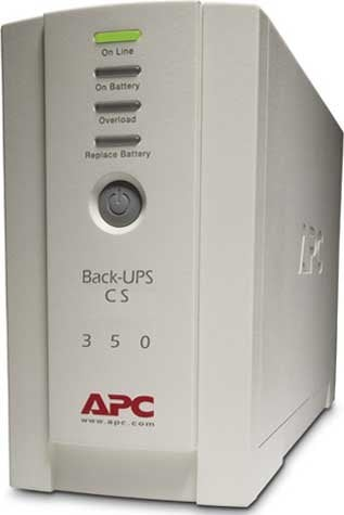 American Power Conversion BK-350  Back-UPS, DB-9, USB, RS-232, 350V BK350