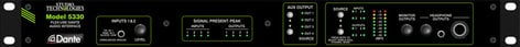 Studio Technologies Model 5330 Multi-Purpose Analog Audio/Dante Interface MODEL-5330