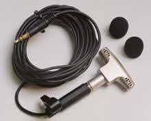 "Apex Electronics APEX162 Condenser Microphone with 1/8"" Mini Stereo Plug APEX162"