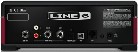 Line 6 AMPLIFi TT Tabletop Multi-Effect Guitar Amp Modeler with iOS and Android Apps AMPLIFI-TT