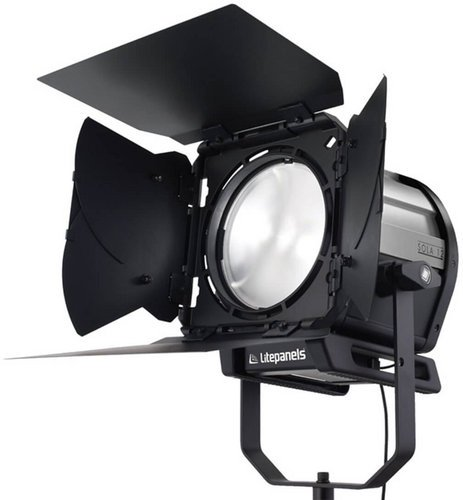 """Litepanels Sola 12 Daylight High Intensity LED Fresnel Fixture with 12"""" Lens 906-3001"""
