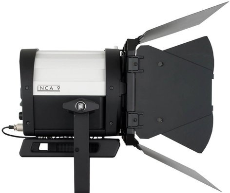 "Litepanels Inca 9 Tungsten LED Fresnel Fixture with 9"" Lens 906-5003"