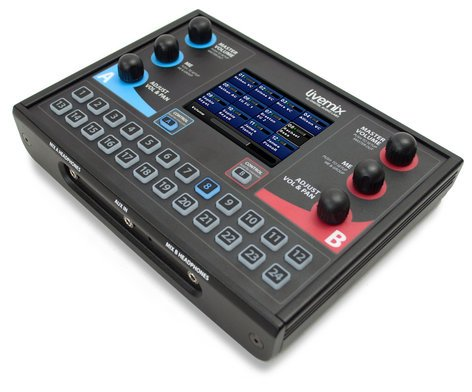 Livemix CS-DUO Dual-Channel Personal Monitor Mixing Station with LCD Touchscreen CS-DUO