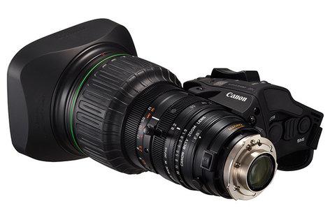 Canon KJ20X8.2B KRSD 8.2mm Focal Length HD ENG Lens KJ20X8.2B-KRSD