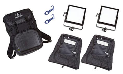 Rosco Laboratories LitePad Vector Backpack Kit 2-Head LitePad Vector Daylight Backpack Kit 292020808056