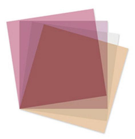 Rosco Laboratories LitePad Vector Filter Accessory Opti-Flecs LED Enhancement Filter Kit 292000808200