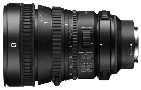 Sony SELP28135G FE PZ 28-135mm F4 G OSS E-mount Power Zoom Lens SELP28135G