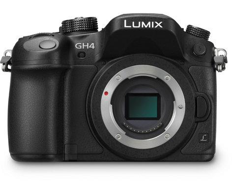 Panasonic LUMIX G Camera DMC-GH4K Bundle 16.05MP DSLR Camera Body with Manfrotto Shoulder Bag 10 and 32GB SDHC Card DMC-GH4K-PROMO