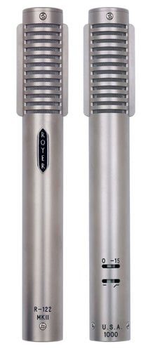 Royer Labs R122-MKII Active Ribbon Microphone R122-MKII