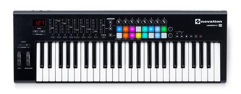Novation Launchkey 49 MK2 49-Key Keyboard Controller with 16 Velocity-Sensitive Trigger Pads LAUNCHKEY-49-MK2
