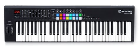 Novation Launchkey 61 MK2 61-Key Keyboard Controller with 16 Velocity-Sensitive Trigger Pads LAUNCHKEY-61-MK2