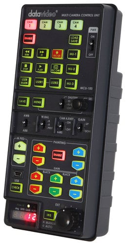 Datavideo Corporation MCU-100P  Hand-Held Multi Camera Control Unit for Panasonic Cameras MCU-100P