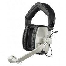 Beyerdynamic DT109-200/50-GREY Headset/Mic, Dual Ear 200/50 ohm, No Cable, Grey DT109-200/50-GREY