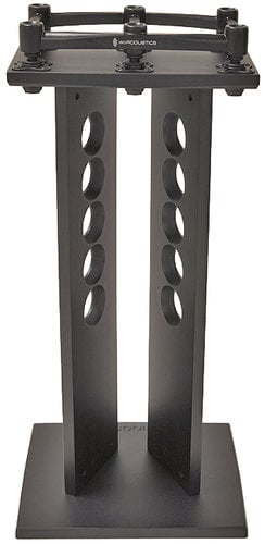 "Argosy Consoles 420Xi Spire Xi-stands 1 Pair of 42"" Speaker Stands with Iso-Acoustics Platforms PAIR-420XI-B"