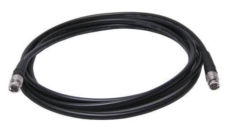 Canare HDSDI-FLEX-050 50 ft Ultra-Flexible HD-SDI Cable with L-4.5CHWS Cable and BCP-B45HW Connectors HDSDI-FLEX-050