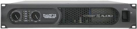 Crest Pro-LITE 7.5 1170W @ 8 Ohms Dual Channel Power Amplifier PRO-LITE-7.5