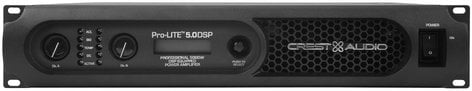 Crest Pro-LITE 5.0 DSP 825W/Ch @ 8 ohms Power Amplifier with DSP PRO-LITE-5.0-DSP