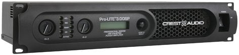 Crest Pro-LITE 3.0 DSP 450W/Ch @ 8 ohms Power Amplifier with DSP PRO-LITE-3.0-DSP