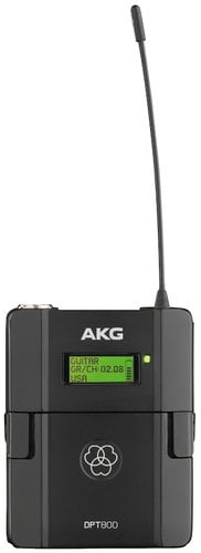 AKG DPT800 BD1 Digital Wireless Bodypack Transmitter - 50mW Band 1, 50mW DPT800-BD1