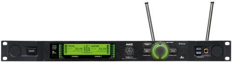 AKG DSR800 BD1 Dual Channel Digital Wireless Receiver - 50mW Band 1 DSR800-BD1