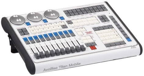 Avolites Titan Mobile with Titan Mobile Wing DMX Lighting Expanded Package 30-01-9822