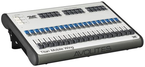 Avolites 30-01-9820 Titan Mobile Wing Additional USB Control Surface for Titan Mobile System 30-01-9820