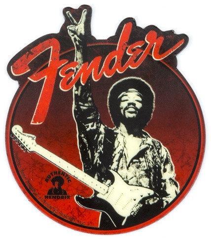 Fender 910-0277-000  Jimi Hendrix Peace Sign Magnet 910-0277-000