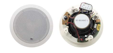 """Kramer Galil 6-CO Pair of White 6.5"""", 2-Way Open-Back Ceiling Speakers GALIL-6-CO-W"""