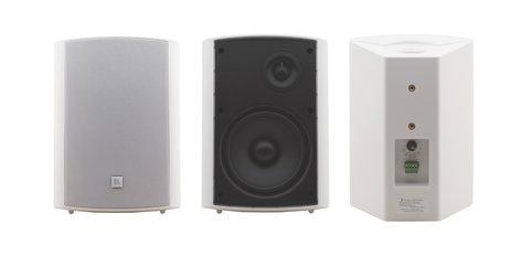 "Kramer Galil 6-O Pair of White 6.5"" 2-Way On-Wall Speakers GALIL-6-O-W"