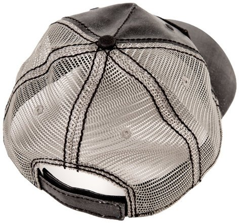 Fender 910-6633-306  Black Clear Coat Trucker Hat - One Size Fits All 910-6633-306