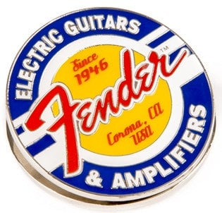 Fender 910-0287-000  Guitars and Amps Logo Magnet Clip 910-0287-000