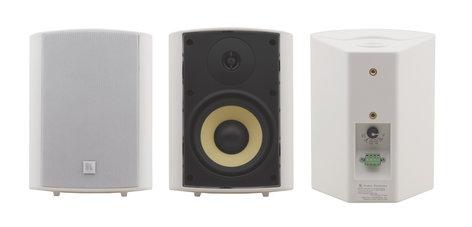 "Kramer Yarden 5-O Pair of White 5.25"", 2-Way, On-Wall Speakers YARDEN-5-O-W"