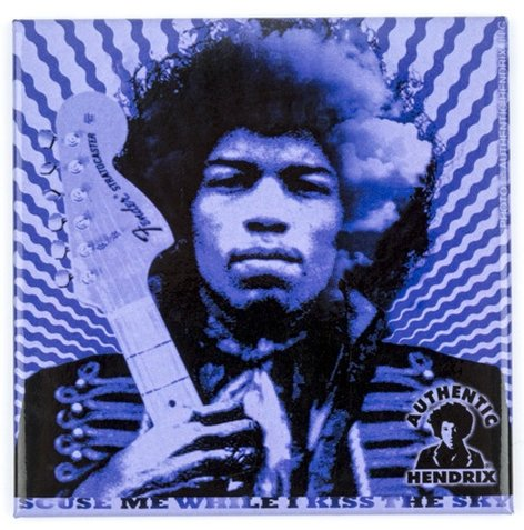 Fender 910-0278-000  Jimi Hendrix Kiss the Sky Magnet 910-0278-000