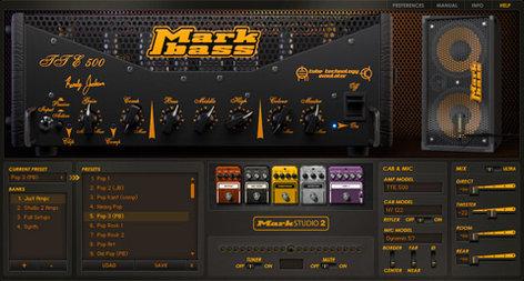 Overloud Mark Studio 2 Bass Amplifier and Cabinet Simulation Plugin Suite MARKSTUDIO2