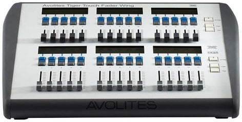 Avolites Tiger Touch II Fader Wing Expansion Control Surface 30-01-3030