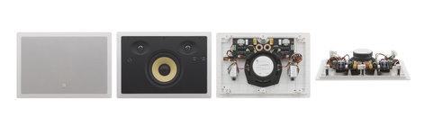 """Kramer Yarden 6-ID 6.5"""", 2-Way, In-Wall Stereo Speaker, White YARDEN-6-ID-W"""