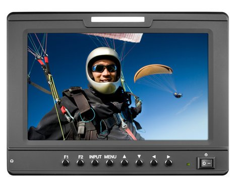"Marshall Electronics V-LCD70-AFHD  7"" High Resolution Camera-Top Monitor with Multiple Inputs V-LCD70-AFHD"