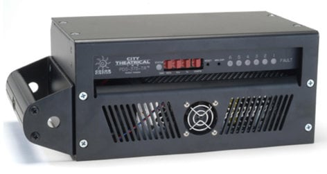 City Theatrical PDS-375 TR Touring CB Power Supply and DMX Control 6250