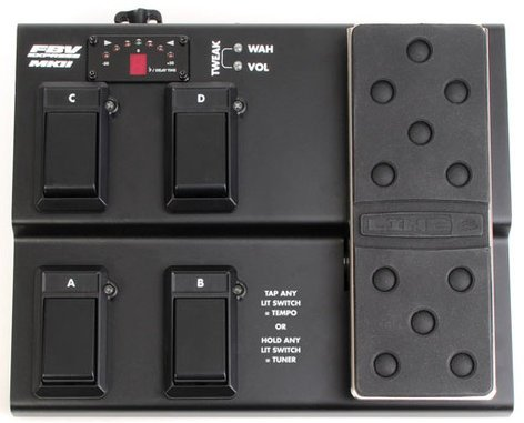 Line 6 FBV Express MkII 4-Button Footswitch for Line 6 Amps & Pods FBV-EXPRESS-MKII
