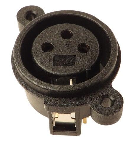 Behringer R95-01340-03300 XLR Input Jack for ACX450, UB1202, K450FX R95-01340-03300