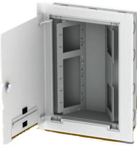 FSR, Inc WB-X2-GNG AV Wall Back Box with 2x 1-Gang and 1x 4-Gang Openings WB-X2-GNG
