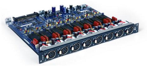 Avid SRI (Stage Rack Input) Card for VENUE Stage Rack with 8 Analog XLR Inputs SRI-192
